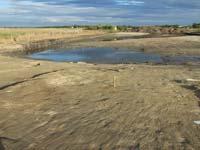 A talajvíz vaskori település maradványait borítja