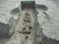 3-4. századi szarmata sír