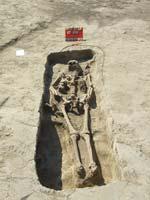 25. lelőhely - 10. századi sír
