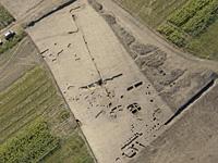 Kora bronzkori szkíta és árpád-kori település részlete Makó határában