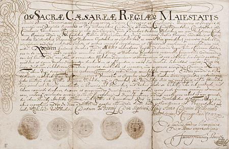 A pozsonyi magyar kamara telepítők levele: 1699. május 7.