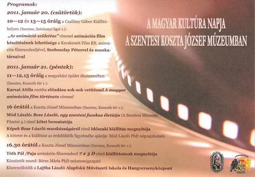 A Magyar Kultúra Napja a szentesi Koszta József Múzeumban