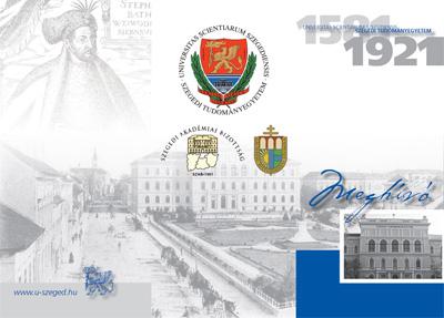 Szegedi Tudományegyetem - Egyetemtörténeti rendezvénysorozat - 2011. május 11-12.