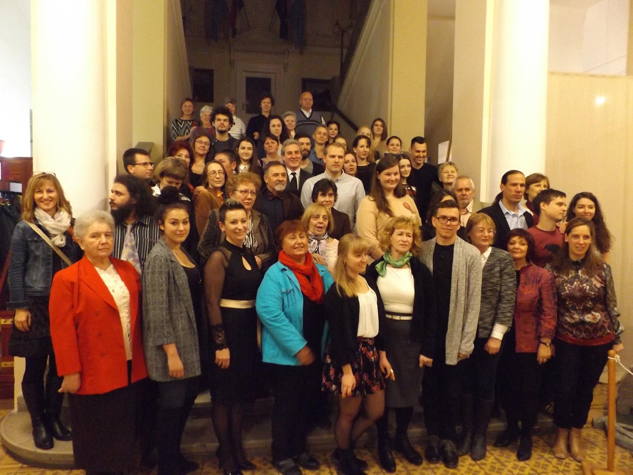 Múzeumi önkéntesek  csoportkép