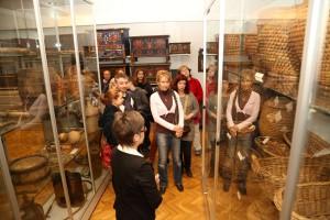 Tárlatvezetés-Néprajzi látványtár