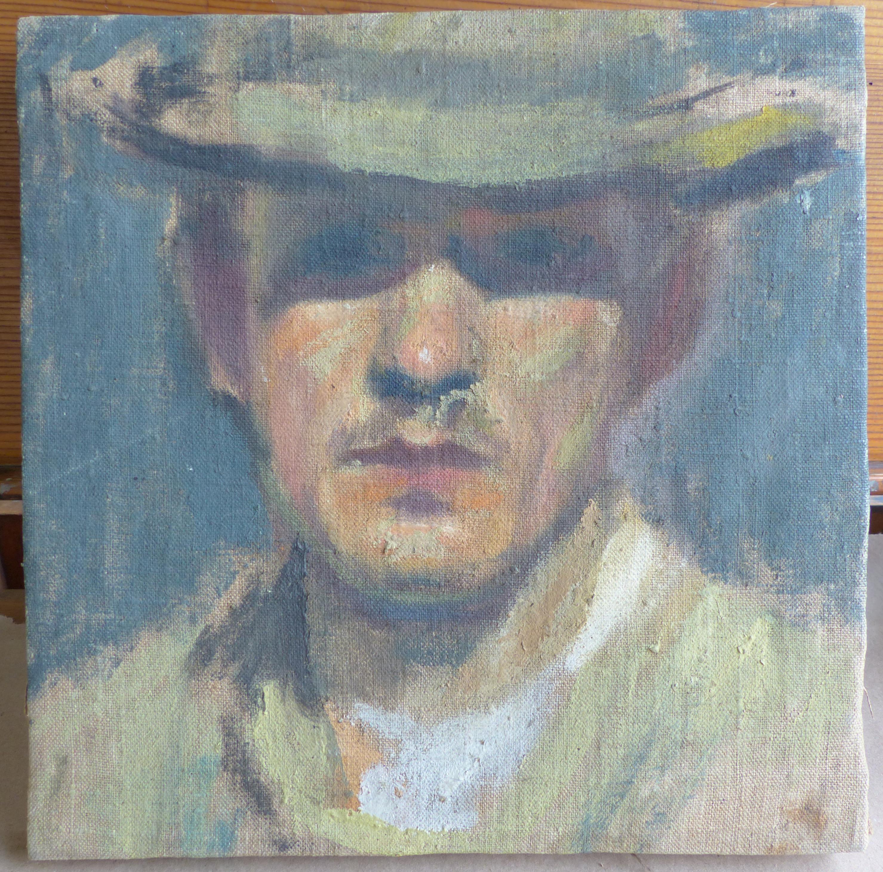 Joachim Selfportrait (before)