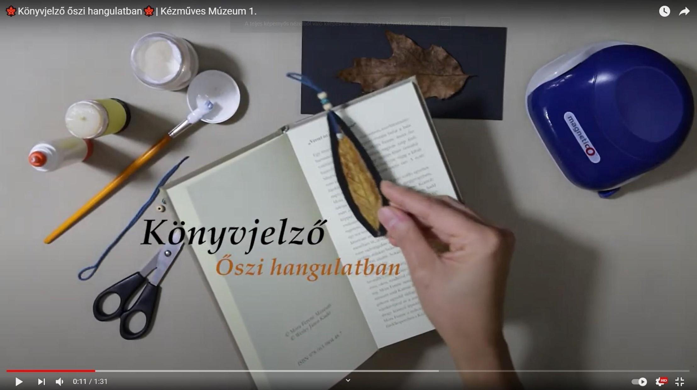 kézműves kép könyvjelző (1)